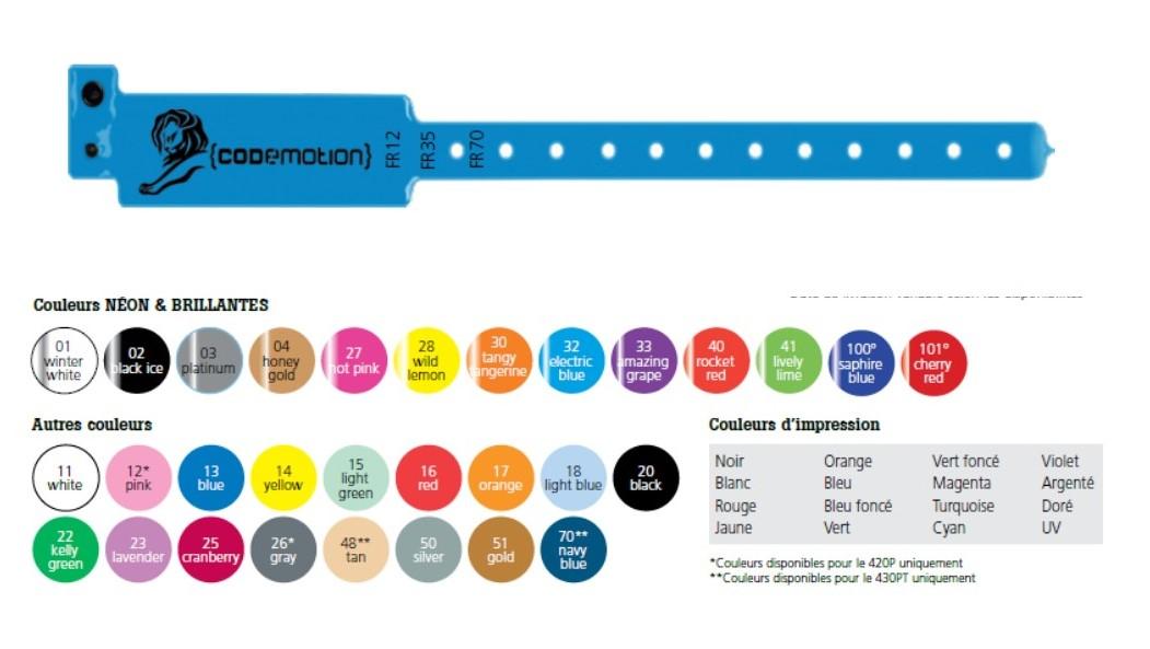 Bracelet Inviolable Vinyl economique